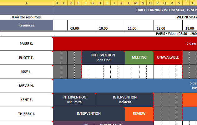 Planification D Entreprise Netside Planning